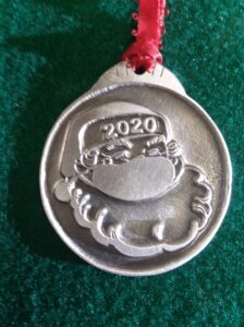 2017 Fischer Pewter Limited Edition ornament
