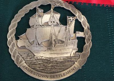 JamestownSettlementPewterOrnamentGift